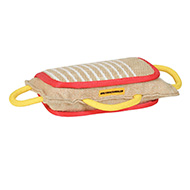 3 Handled Bite Pillow Training Jute Bite PAD for Mastif training