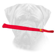 French Linen Bite Rag for Bullmastiff Training
