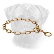 Choke Chain Bullmastiff Collar for Training