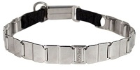 "FUN-19"" STAINLESS STEEL dog collar NECK TECH COLLAR"
