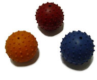 Rubber Squeaky Ball Dog Toy 2 3/8''(6cm)-Bullmastiff Dog Toys