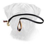 No Rubbing Nylon Bullmastiff Leash with Soft Handle
