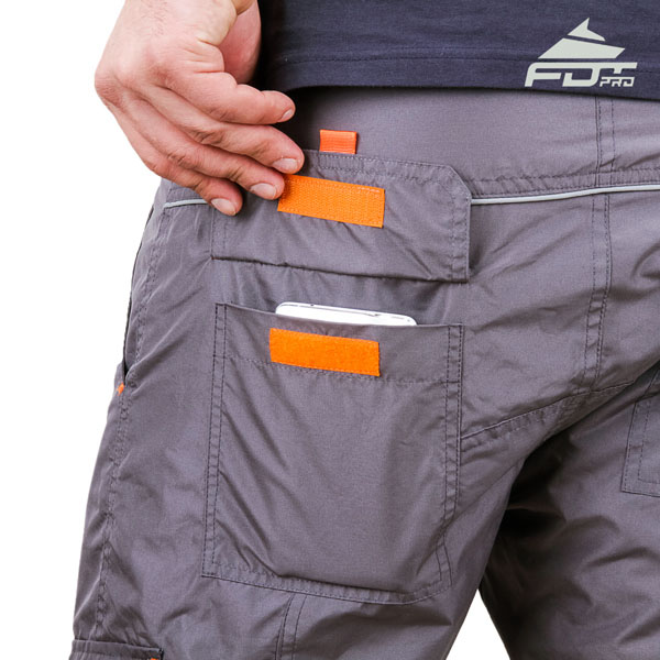 Comfortable Design FDT Pro Pants with Reliable Side Pockets for Dog Trainers