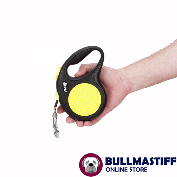 Daily Walking Retractable Leash Neon Style for Total Safety