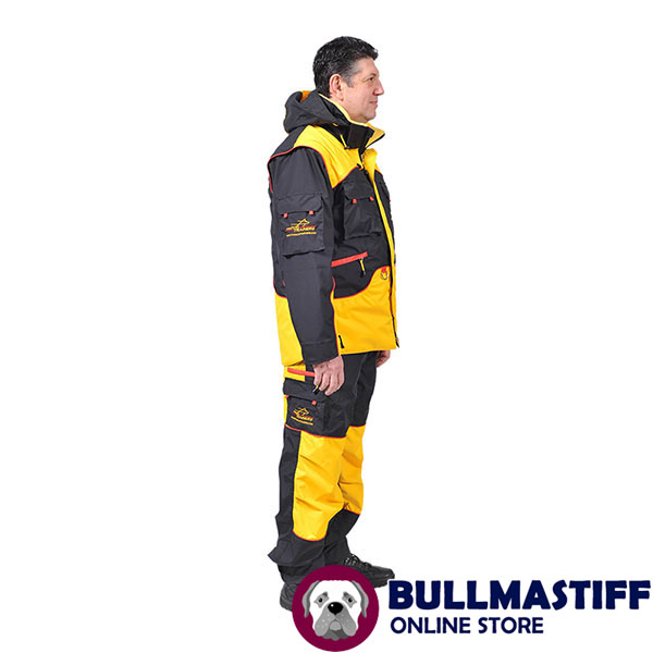Convenient Dog Training Bite Suit with a Few Pockets