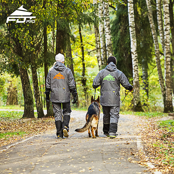 FDT Professional Dog Trainer Jacket of Fine Quality for All Weather