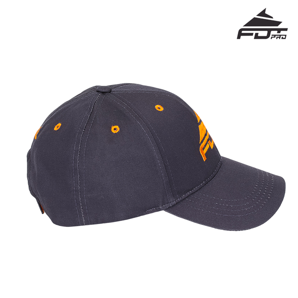 Fine Quality Adjustable Snapback Cap for Dog Trainers