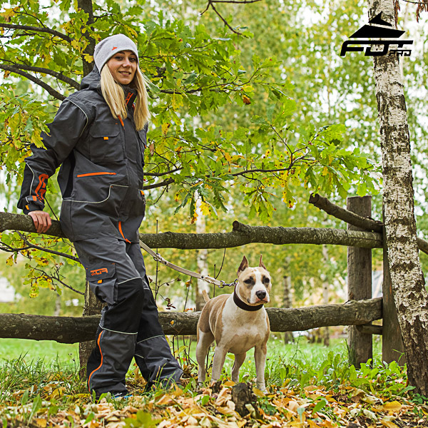 Men / Women Design Pants with Comfortable Back Pockets for Active Dog Trainers