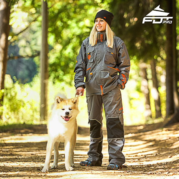 Men and Women Design Dog Training Jacket of Fine Quality Materials