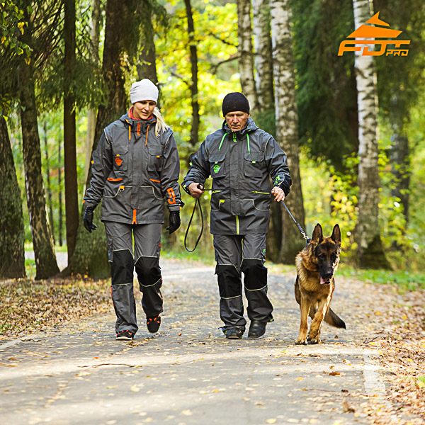Any Weather Use Top Notch Dog Tracking Suit for Men and Women