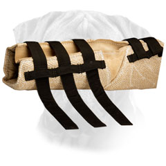 Bite Bullmastiff Jute Sleeve with Velco Closure