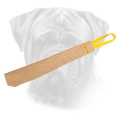 Jute Bullmastiff Bite Rag with Handle for Training Puppies