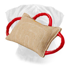 Jute Bullmastiff Bite Pillow for Dog Training