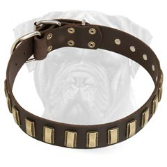 Top Quality Safe Leather Collar