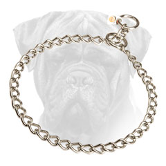 Bullmastiff Choke Collar Stainless Steel for Training