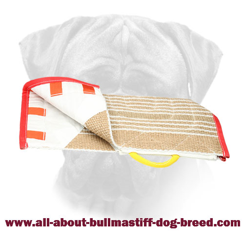 Strong Bullmastiff Jute Cover for Prolonging Bite Sleeve Use