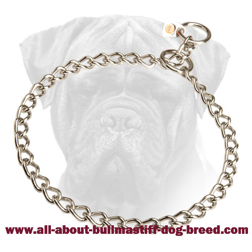 Herm Sprenger Choke Collar for Bullmastiff