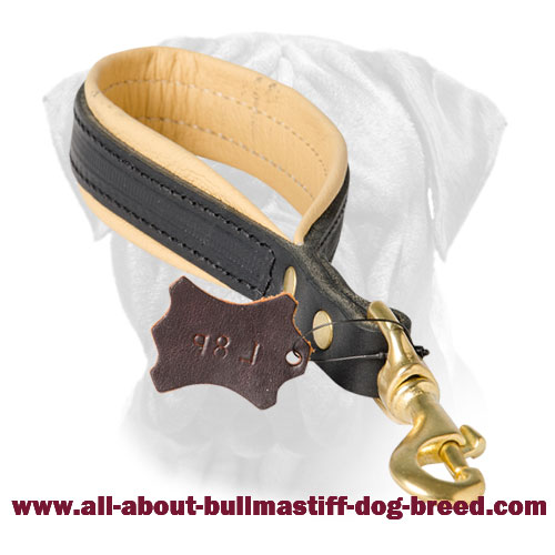 Better Control of Your Bullmastiff Short Leather Leash